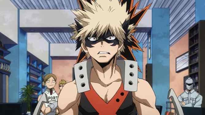 My Hero Academia Fans Favorite Katsuki Bakugou