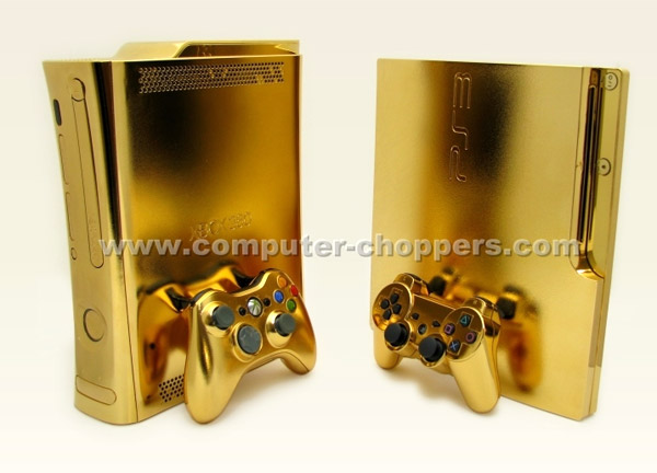 Golden Xbox 360 The Awesomer