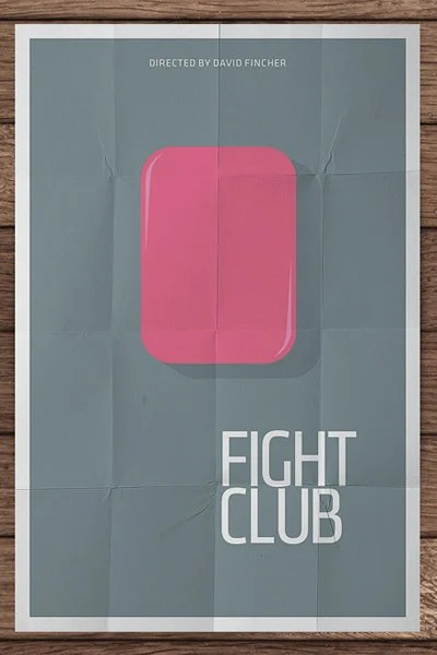 Minimalist Movie Posters The Awesomer
