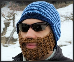 Bearded Knit Beanie