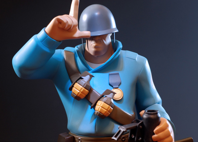 Team Fortress 2 Soldier Statue