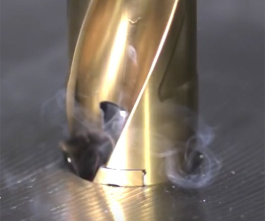 Cutting Tools in Slow-mo