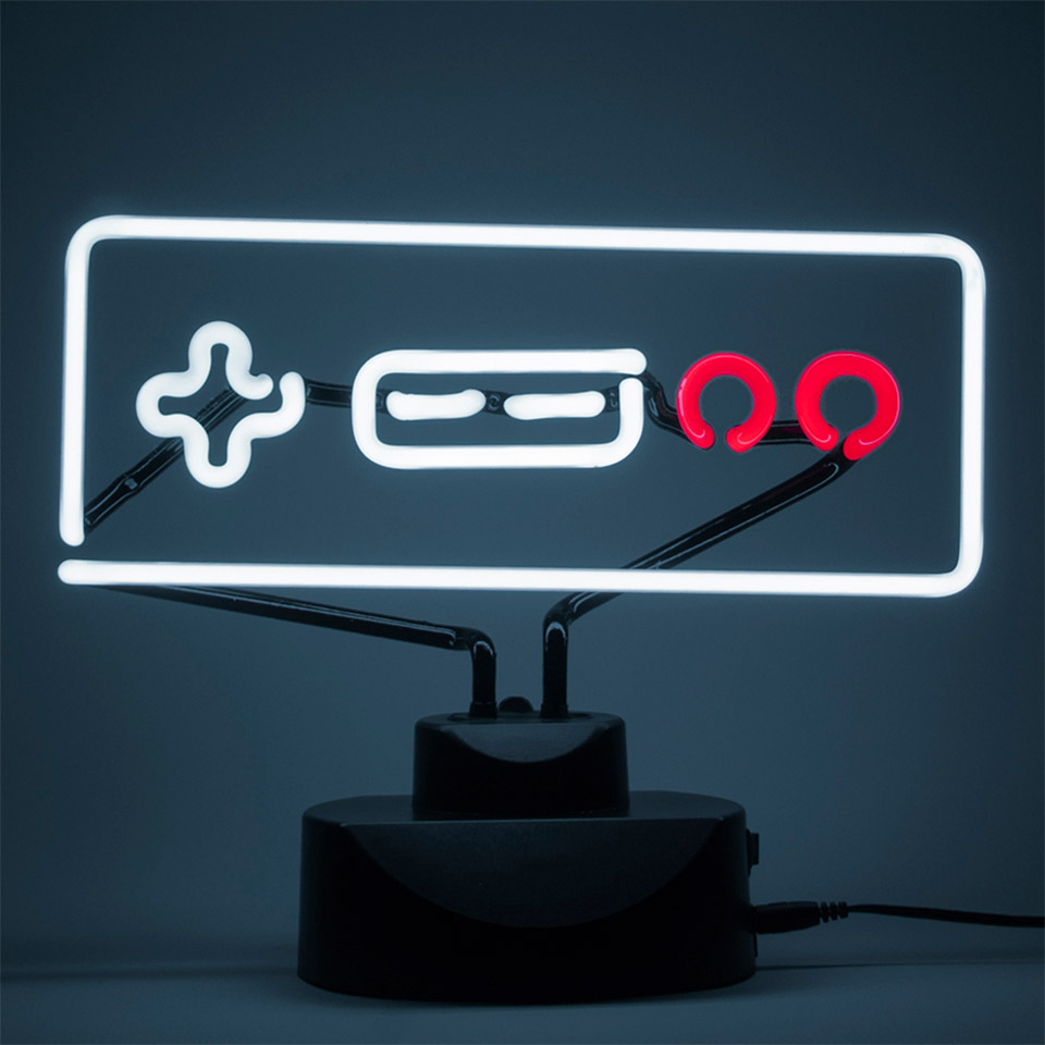 Geeky Neon Lights Are Perfect For Gamers
