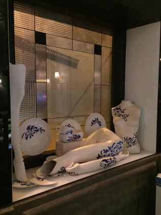 Broken china & broken mannequins.
