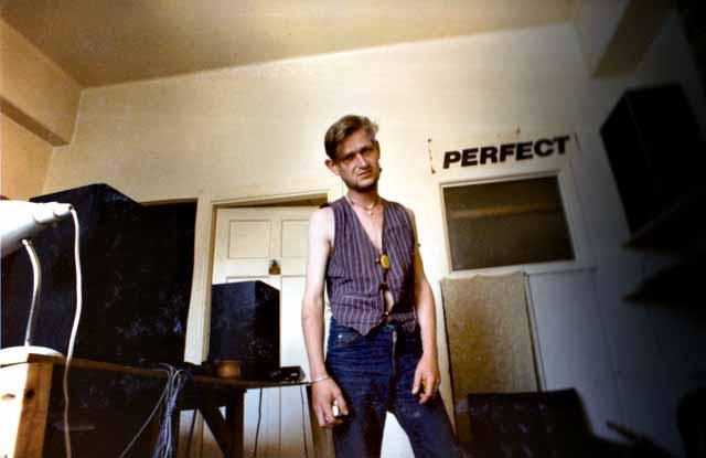 Kevin Hawkins, at the Womb, AK, 1985