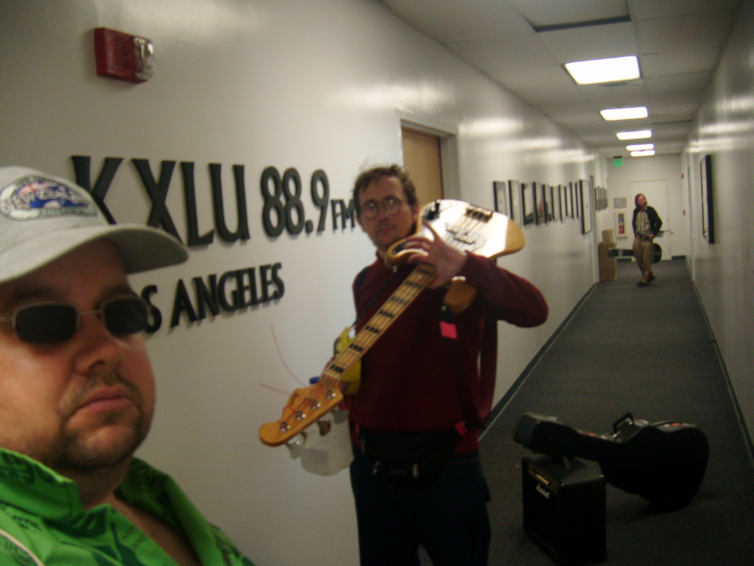 KXLU Recording for radio - UCLA at Irvine, California