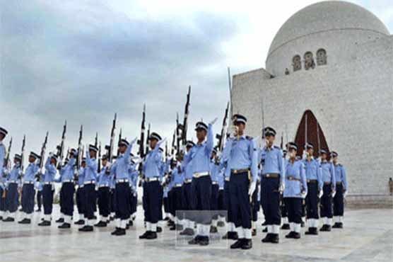 Daily The Azb Change Of Guard Ceremonies Held At Mazar E Quaid