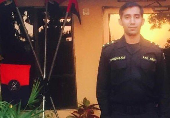 Captain Zarghaam Fareed