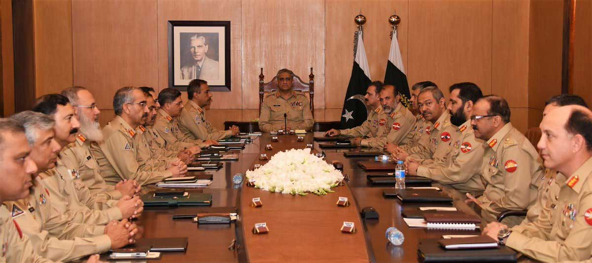 Corps Commanders Conference