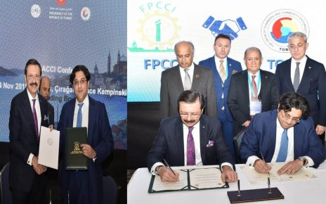 FPCCI and TOBB sign MoU for establishing Turkish-Pakistan Chamber of Commerce and Industry