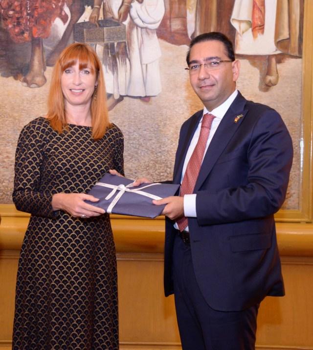 Daily The Azb – Murtaza Hashwani welcomes Belgian Trade