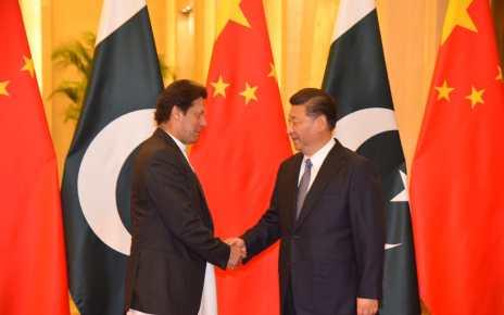 Prime Minister Imran meet President Xi