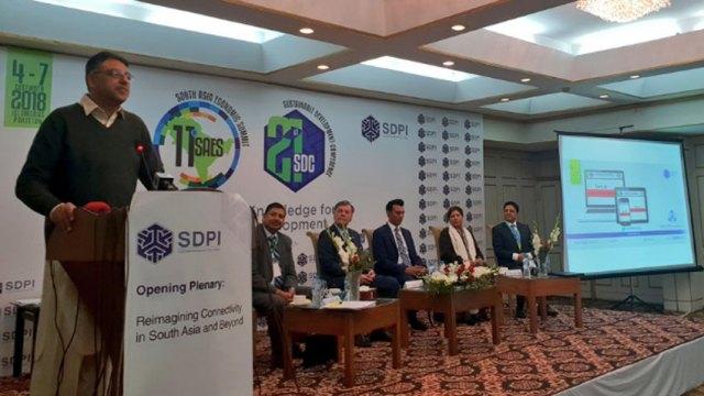 Asad Umar 11th South Asia Economic Summit