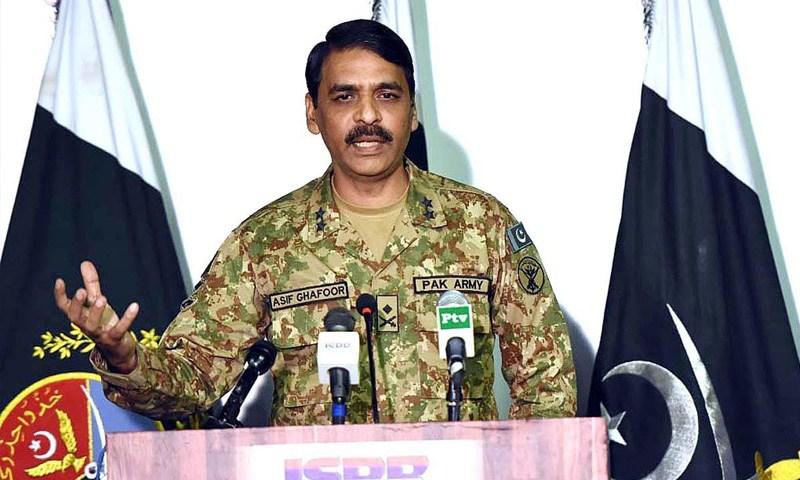 Director General ISPR Major General Asif Ghafoor