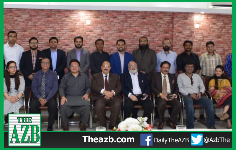 Dr Farhan Essa Abdullah hosted with HiTea in honor of Consumer Association of Pakistan