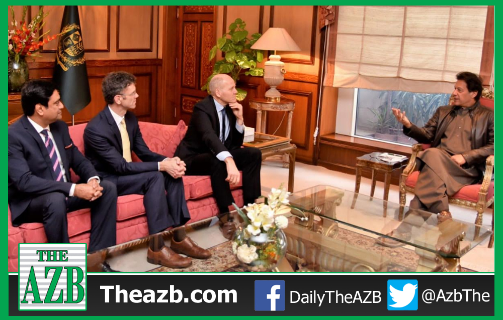 Telenor Group CEO meets Prime Minister Imran Khan