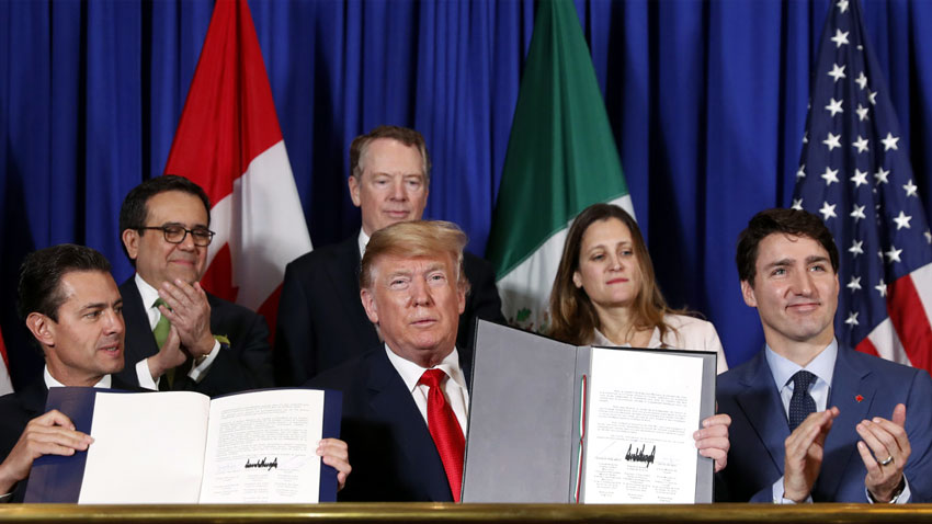 Trade Deal with Canada and Mexico