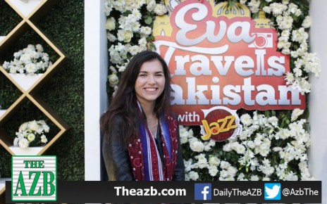 Eva Travels Pakistan with Jazz