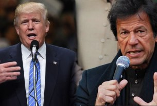 TRUMP AND IMRAN KHAN