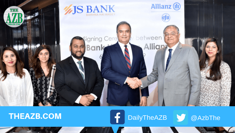 JS Bank and Allianz EFU