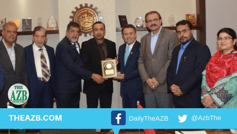 Consul General of Turkey visits Korangi Association of Trade & Industry