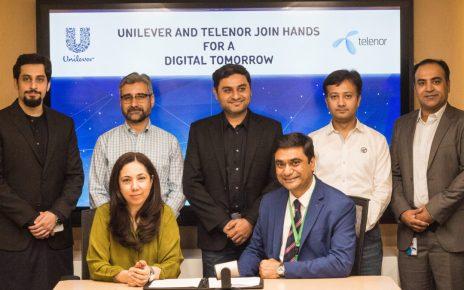 Unilever-&-Telenor-Partnership