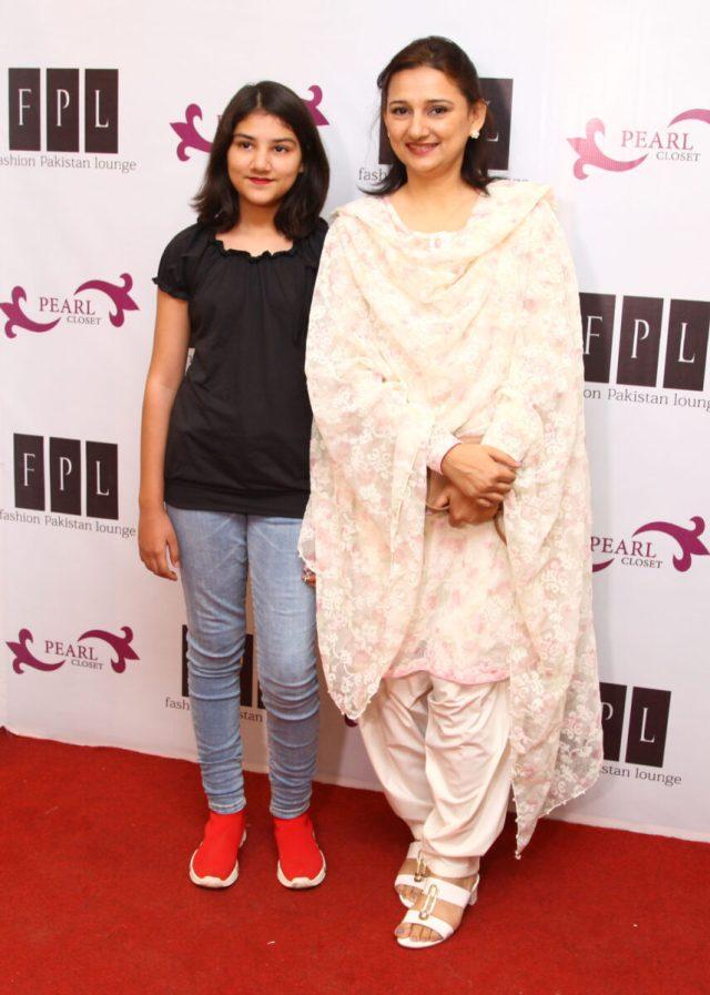 Uzma Alkarim with Daughter