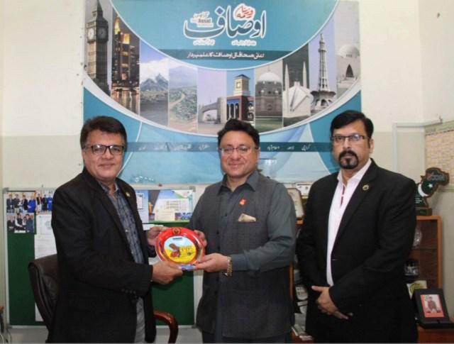 Daily The Azb – Dr Farhan Essa Abdullah Join USPAK Trade