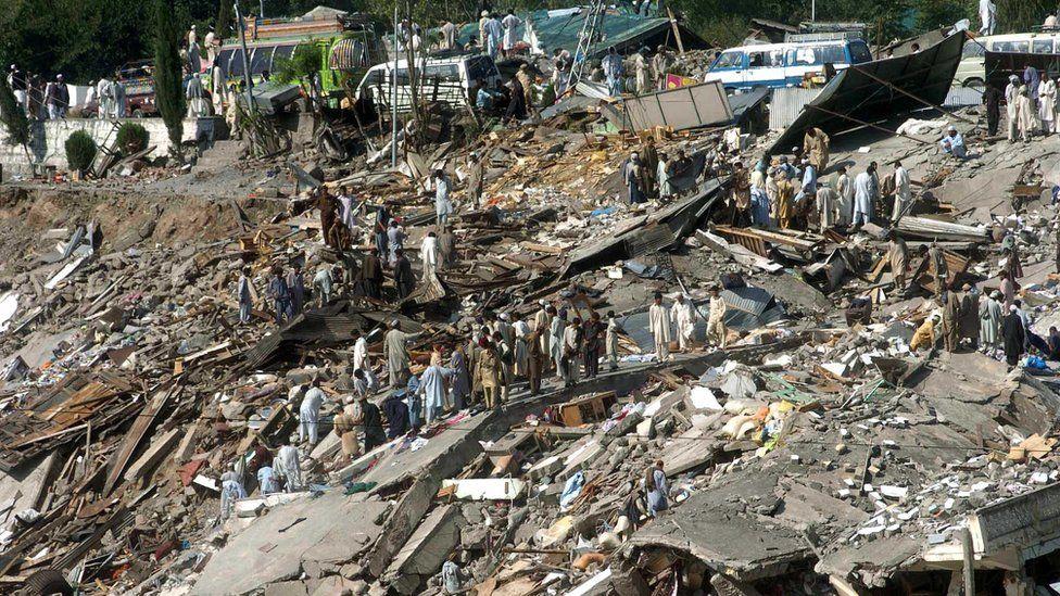 October 8 earthquake