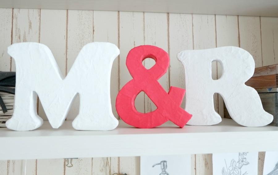 Буквы из картона своими руками