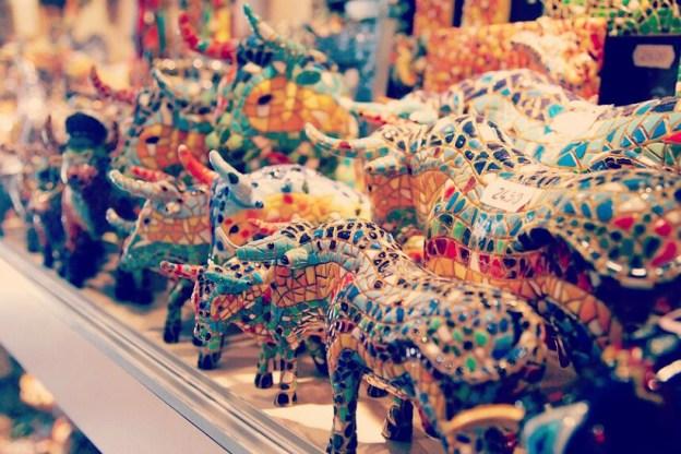 Сувениры в стиле Гауди