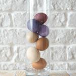 Скоро Пасха: Как покрасить яйца натуральными красителями