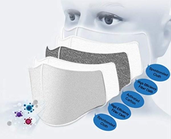 Reusable Washable Mask 6405 45 ADULT