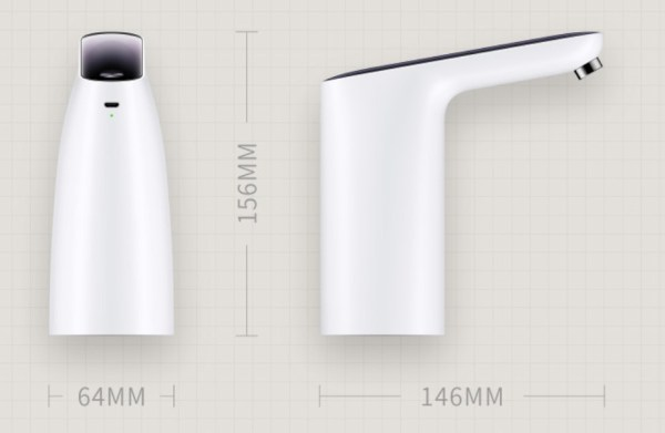 Automatic USB Mini Touching Switch Water Pump From Xiao-mi Youpin Wireless-Rechargeable Water Dispenser