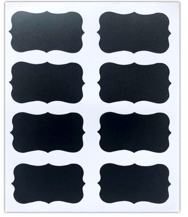PVC Labels Kitchen