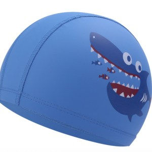 Children's PU Waterproof Swimming Cap