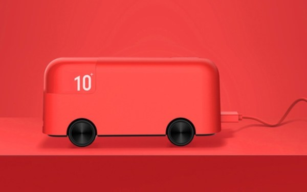 Portable Power Bank Creative London Bus Appearance