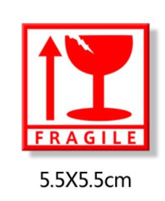 Fragile Sticker- 2x2