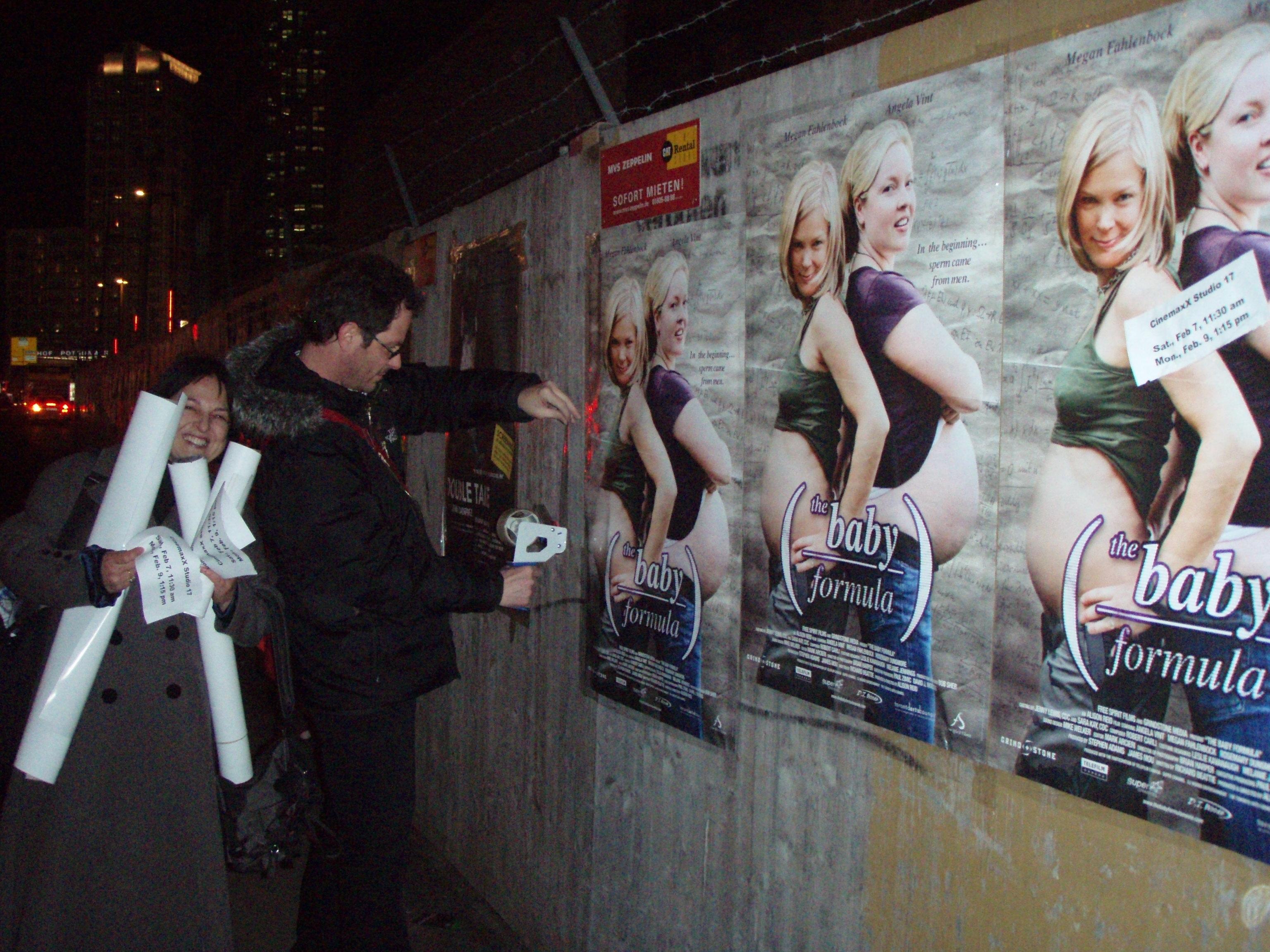 postering in Berlin
