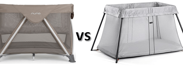 ad49d656c64 Nuna Sena vs Baby Bjorn Travel Crib Comparison  Which is Better ...