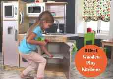 8 Best Wooden Play Kitchens