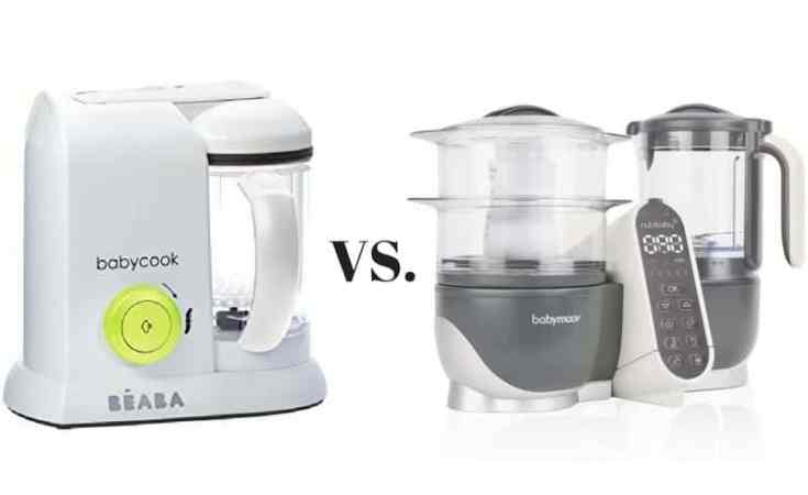 Beaba Babycook vs. Babymoov Duo Meal Station
