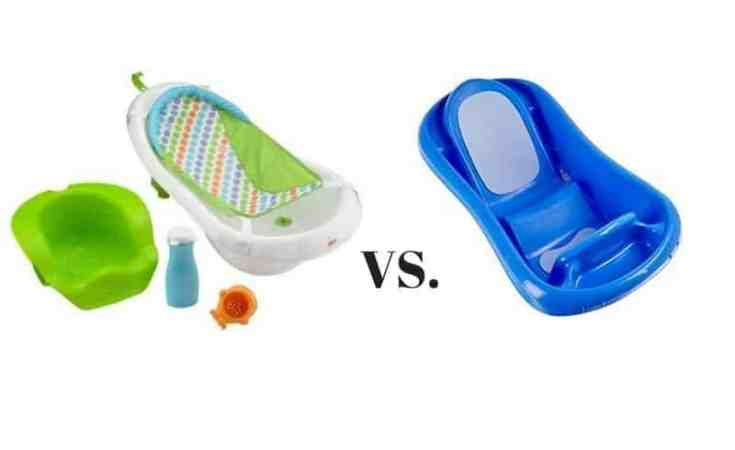 d4fe4077aff Fisher Price 4-in-1 Sling N Seat Tub vs. The First Years Sure ...