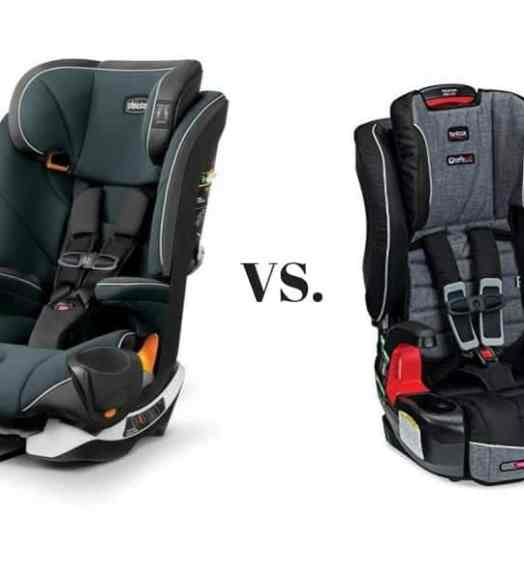 Chicco MyFit Harness Booster Car Seat Vs Britax Frontier
