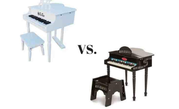 Schoenhut vs. Melissa & Doug Piano