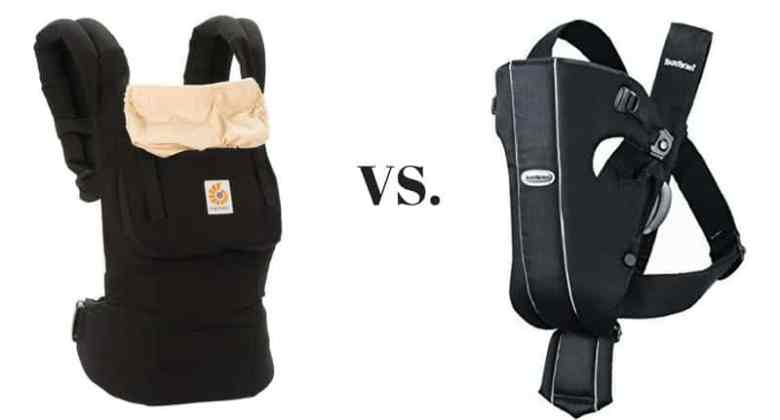 Ergobaby Carrier vs. Baby Bjorn
