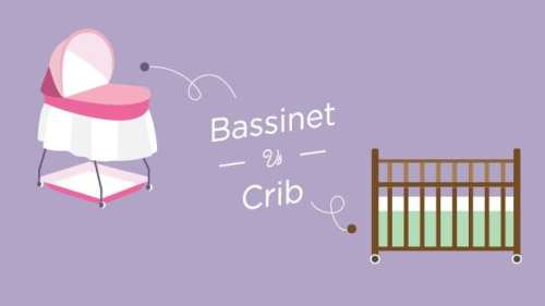 bassinet vs crib