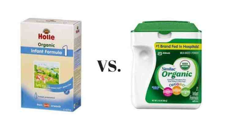 Holle vs. Similac Formula