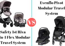 Safety 1st Riva vs evenflo pivot travel system