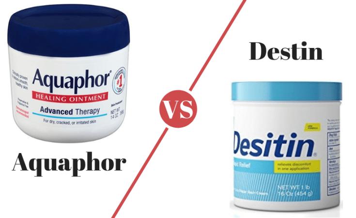 Aquaphor vs Destin Diaper Rash Remedy